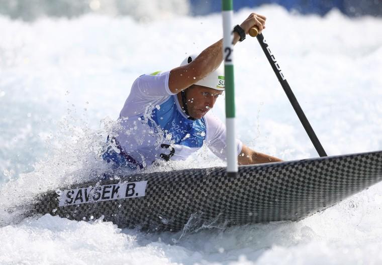 Image: Canoe Slalom - Men's Canoe Single (C1) Semi-final