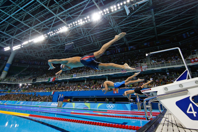 Image: Swimming - Olympics: Day 4