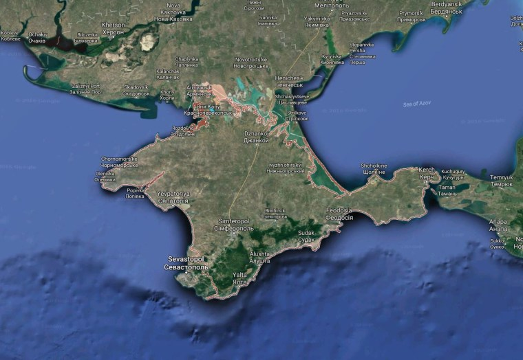 Russia Claims It Thwarted Ukrainian Devised Terror Attack In Crimea