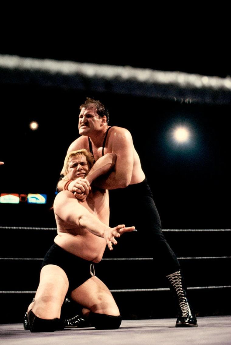 Sergeant Slaughter Wrestling Pat Patterson