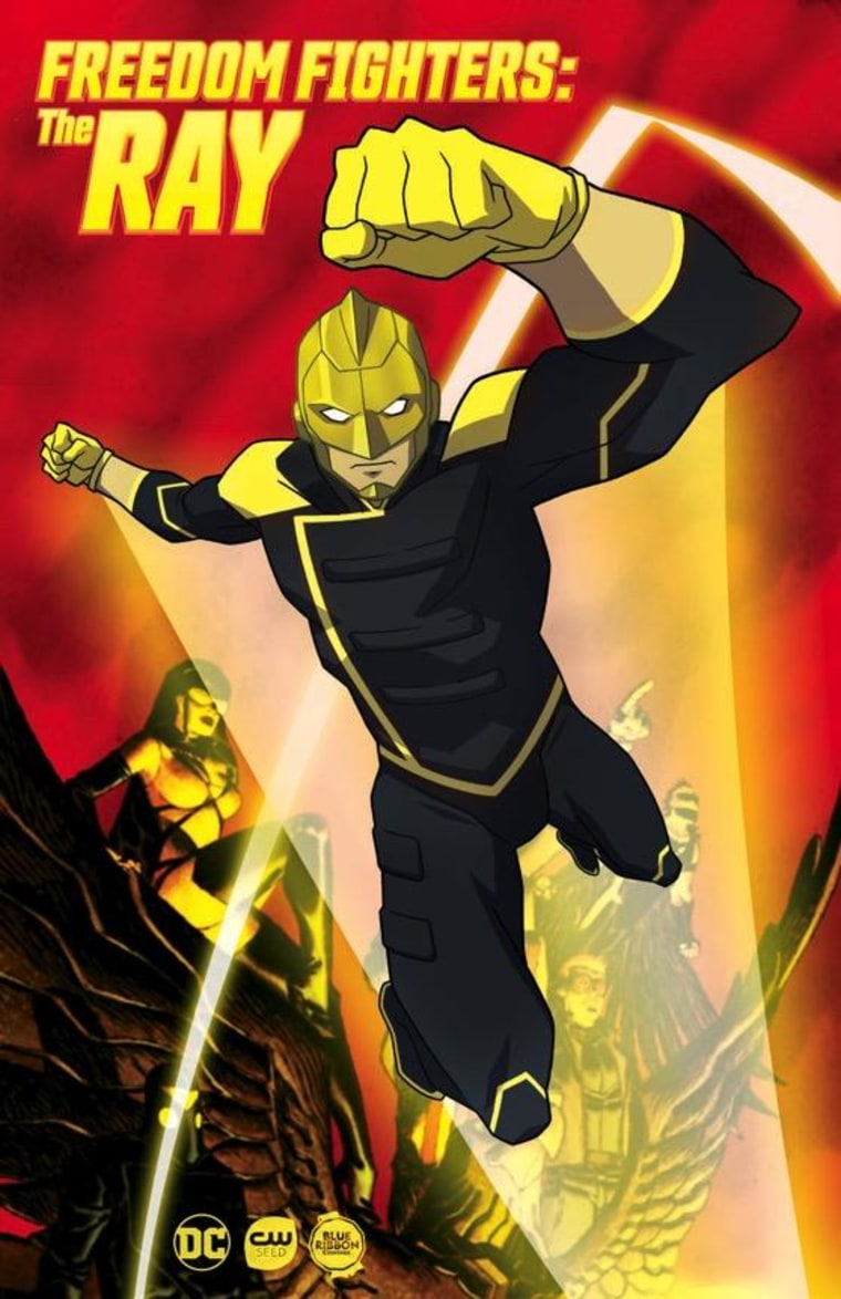 """CW Seed's upcoming animated series """"Freedom Fighters: The Ray."""""""