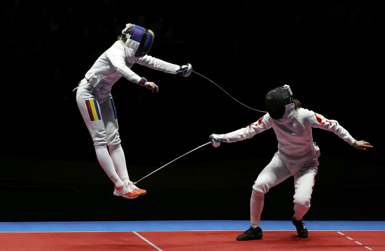 Image: Fencing - Women's Epee Team Gold Medal Match