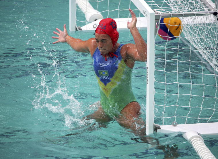 Image: Water Polo - Women's Preliminary Round - Group A Russia v Brazil