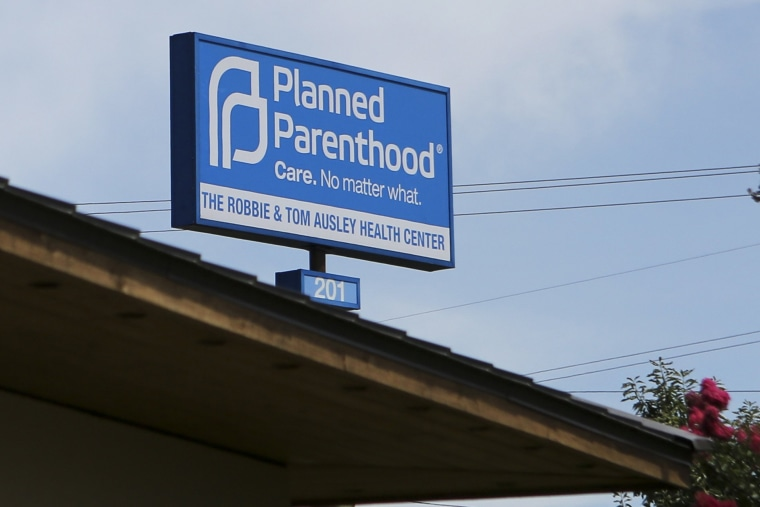 Image: Planned Parenthood South Austin Health Center following the U.S. Supreme Court decision in Austin