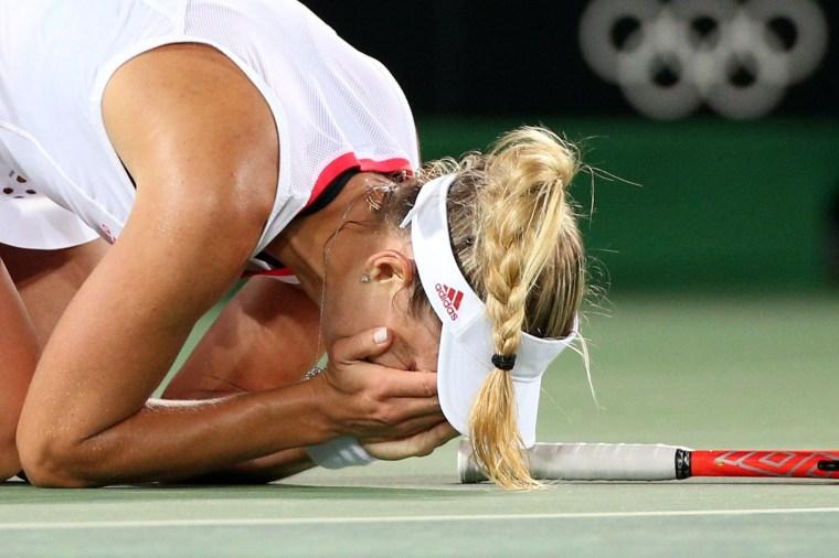 Image: Tennis - Women's Singles Semifinals