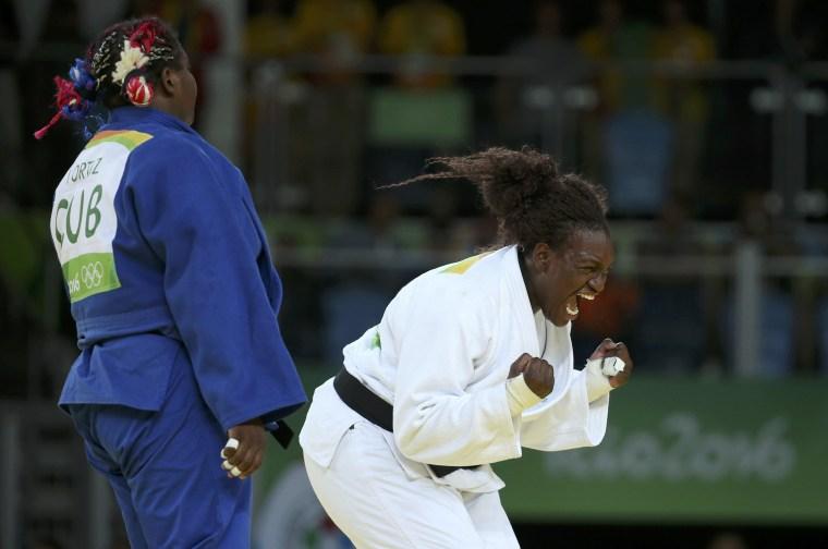 Image: Judo - Women +78 kg Final - Gold Medal Contest