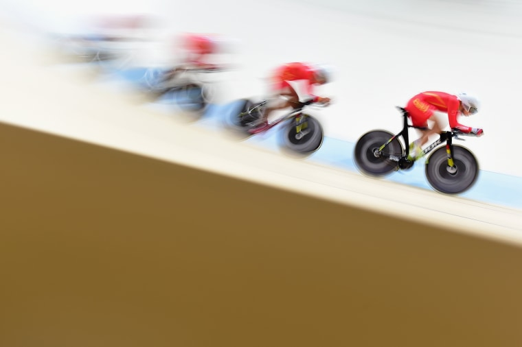 Image: ***BESTPIX*** Cycling - Track - Olympics: Day 7