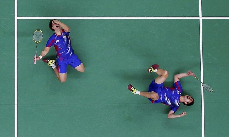 Image: Badminton - Men's Doubles Group Play