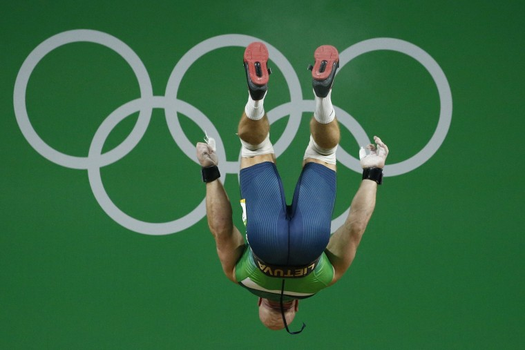 Image: Olympic Games 2016 Weightlifting