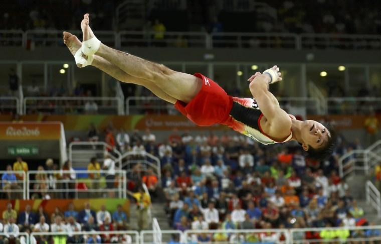 Image: 2016 Rio Olympics - Artistic Gymnastics - Men's Floor Final