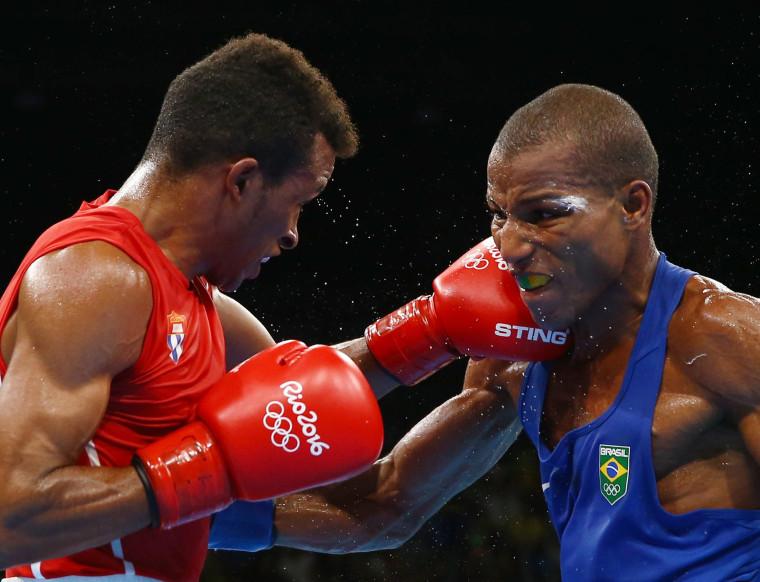 Image: Boxing - Men's Light (60kg) Semifinals Bout 181