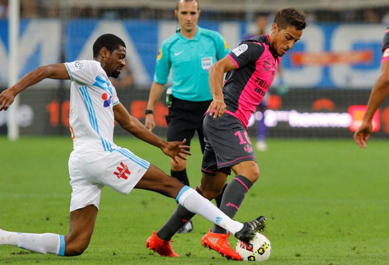Image: Olympique Marseille v Toulouse - French Ligue 1 - Velodrome stadium