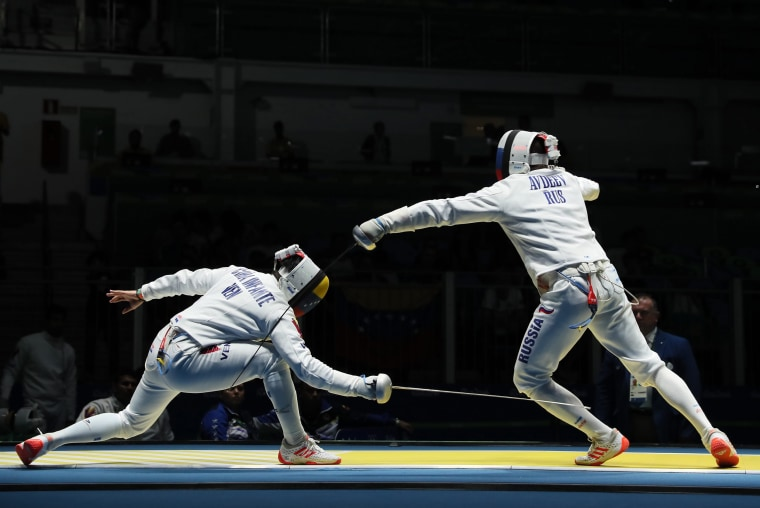 Image: Olympic Games 2016 Fencing