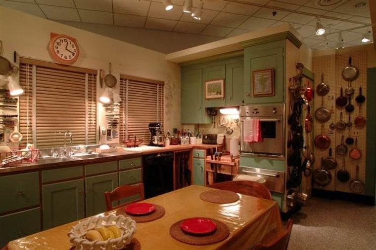 Julia Child's iconic kitchen