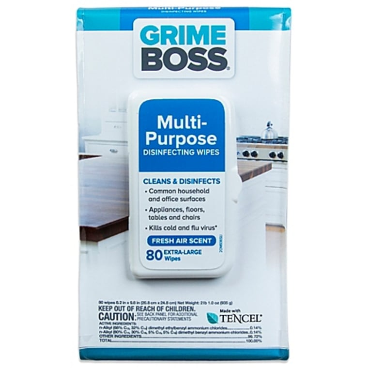 Grime Boss touch screen wipes, $3.99; amazon.com