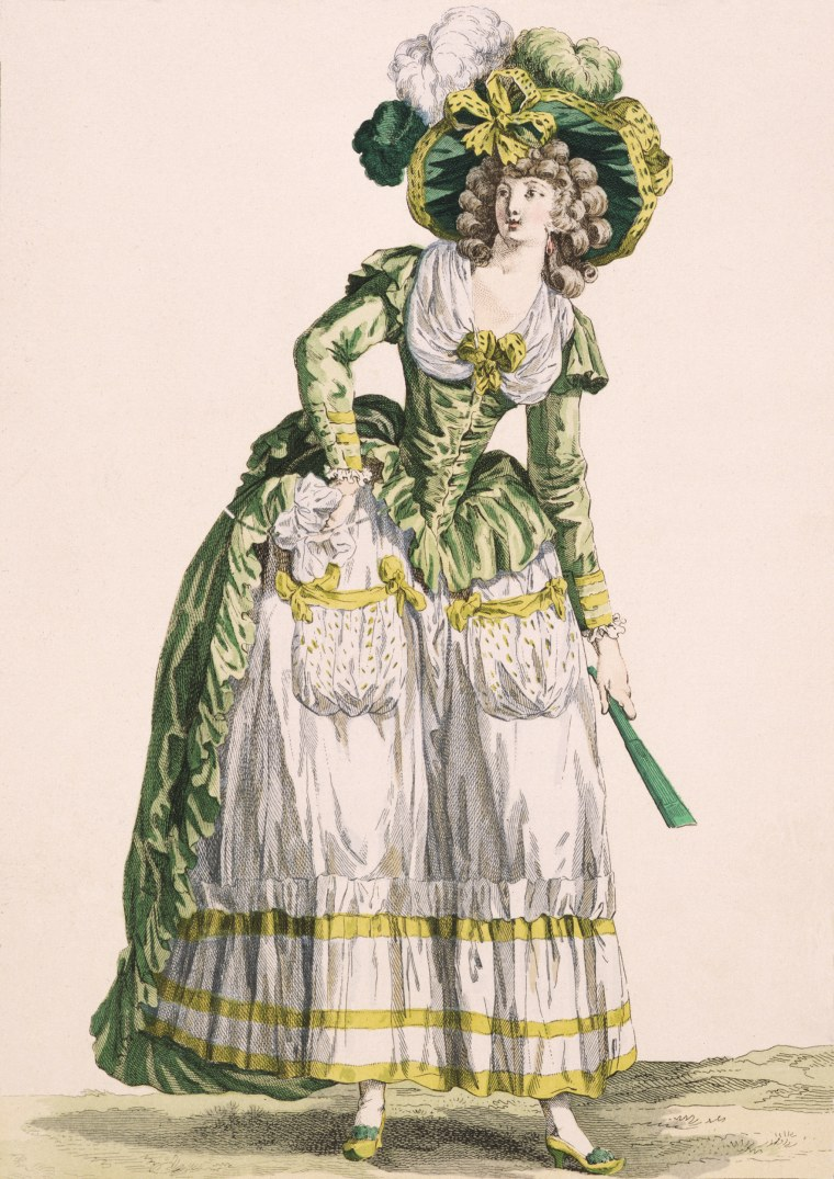 Lady's Country-Style Gown, 1780