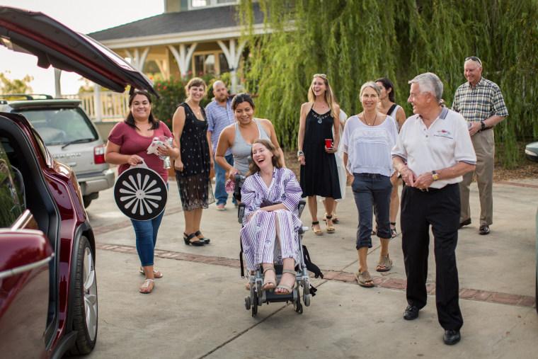 Betsy Davis ALS farewell rebirth story