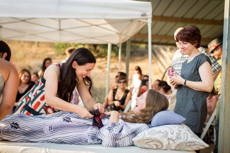Betsy Davis ALS farewell rebirth party