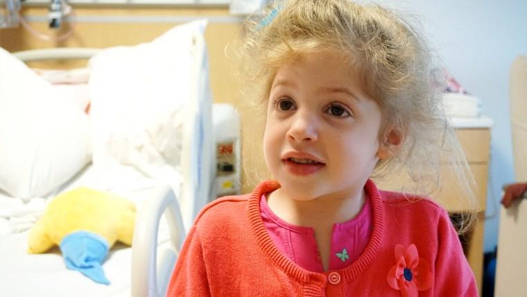 Eliza O'Neill, who has Sanfilippo syndrome.
