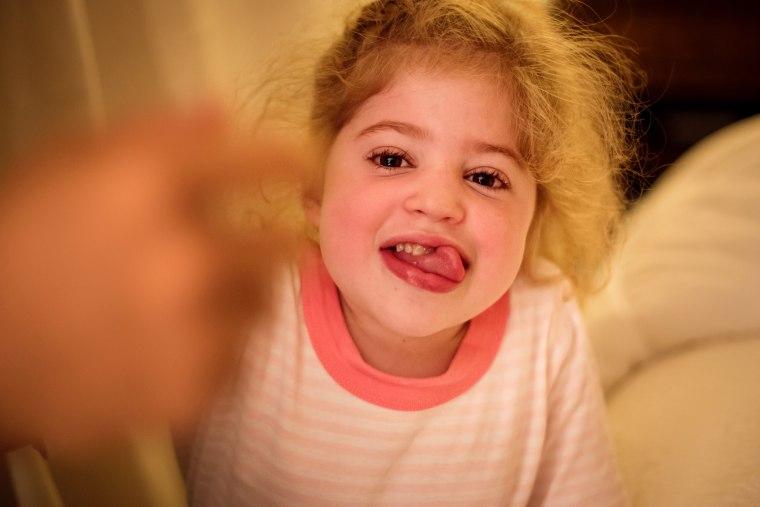 Eliza O'Neill has Sanfilippo syndrome