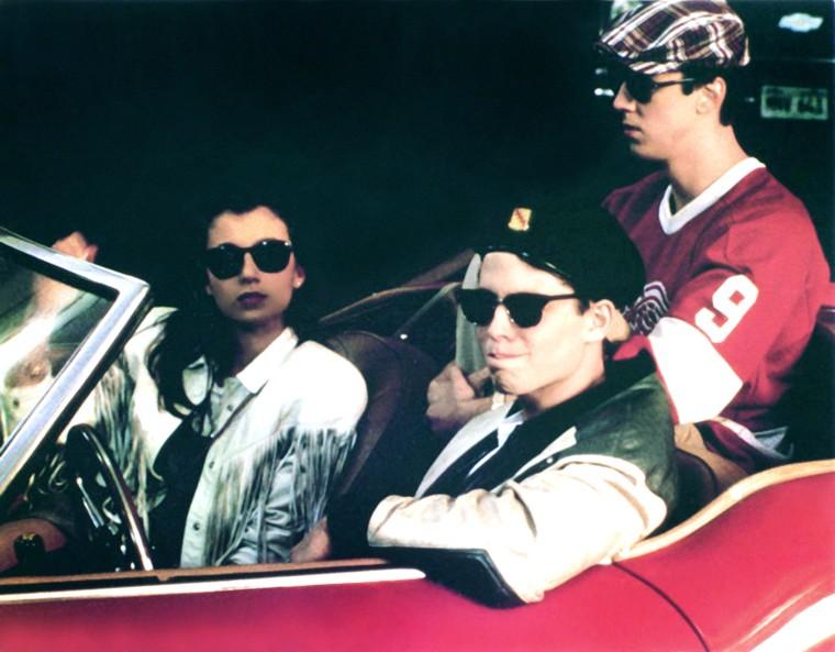FERRIS BUELLER'S DAY OFF, Mia Sara, Matthew Broderick, Alan Ruck, 1986, (c) Paramount/courtesy Evere