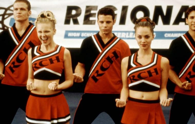 BRING IT ON, Kirsten Dunst, Huntley Ritter, Eliza Dushku, 2000, (c)Universal/courtesy Everett Collec