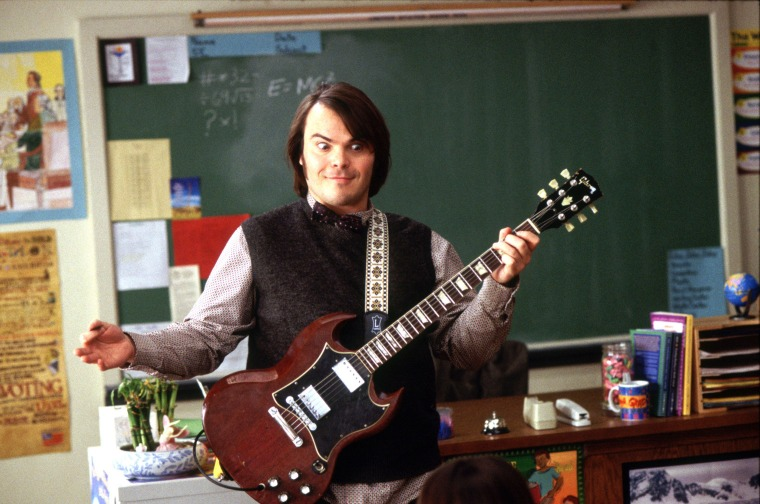 SCHOOL OF ROCK, Jack Black, 2003, (c) Paramount/courtesy Everett Collection