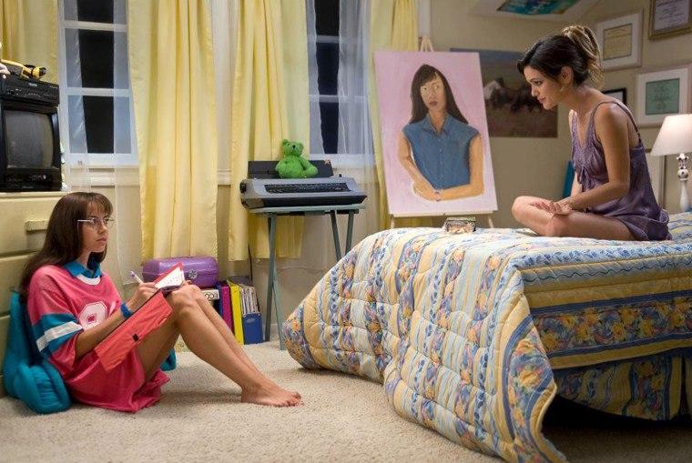 Aubrey Plaza stars as Brandy and Rachel Bilson stars as Amber in CBS Films' The To Do List (2013)