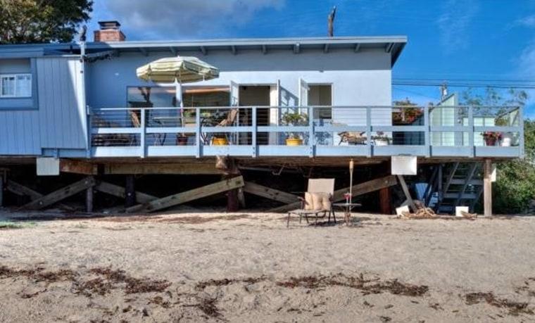 Eve Plumb's Malibu house