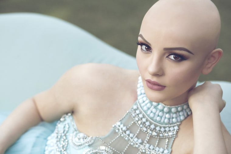 17-year-old with cancer poses for glamorous photo shoot