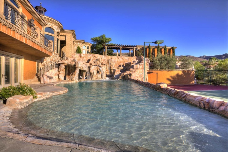 Home with a lazy river