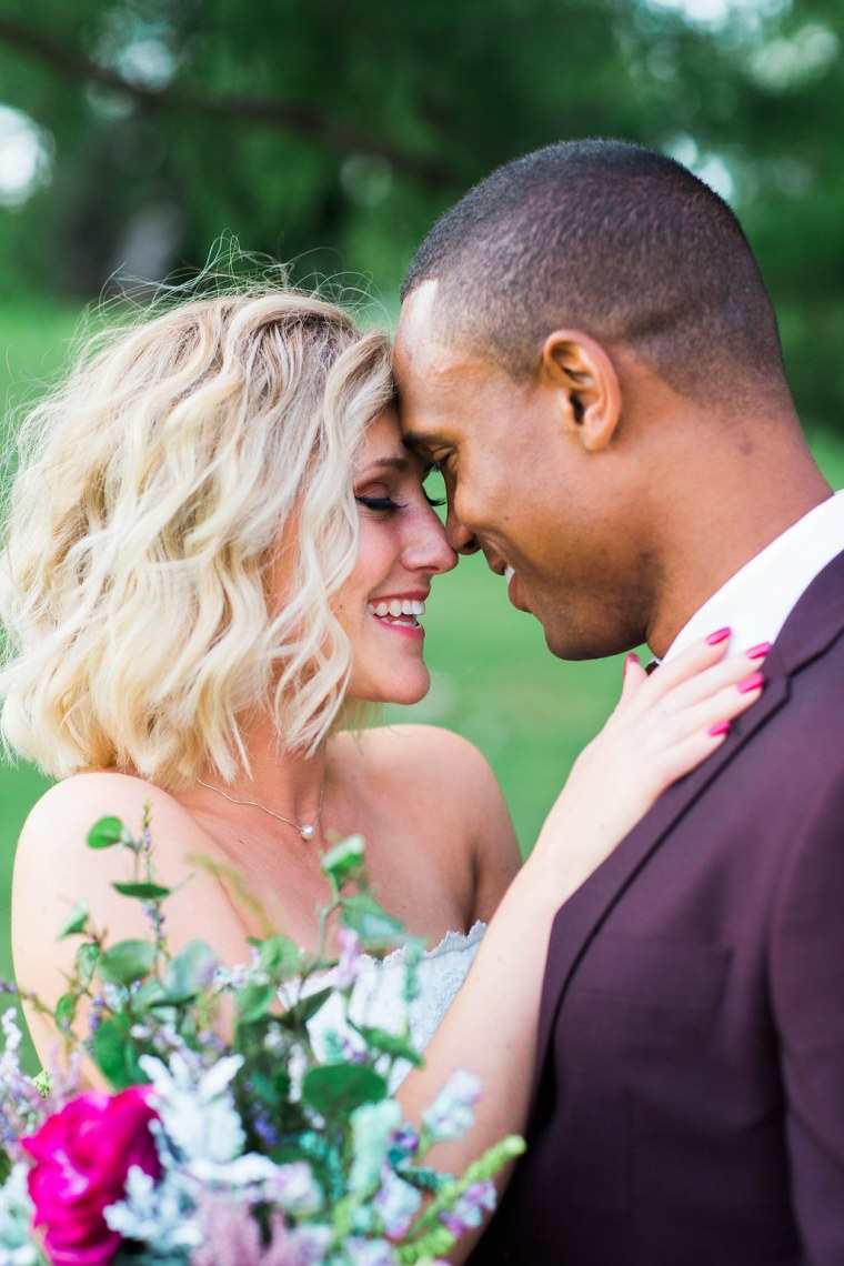 The couple spent a perfect day with family and friends at their block party wedding.
