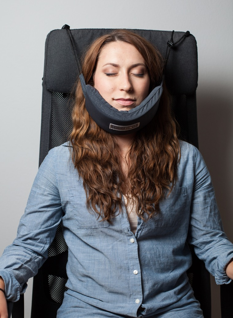 A new travel neck pillow promises you'll get some sleep