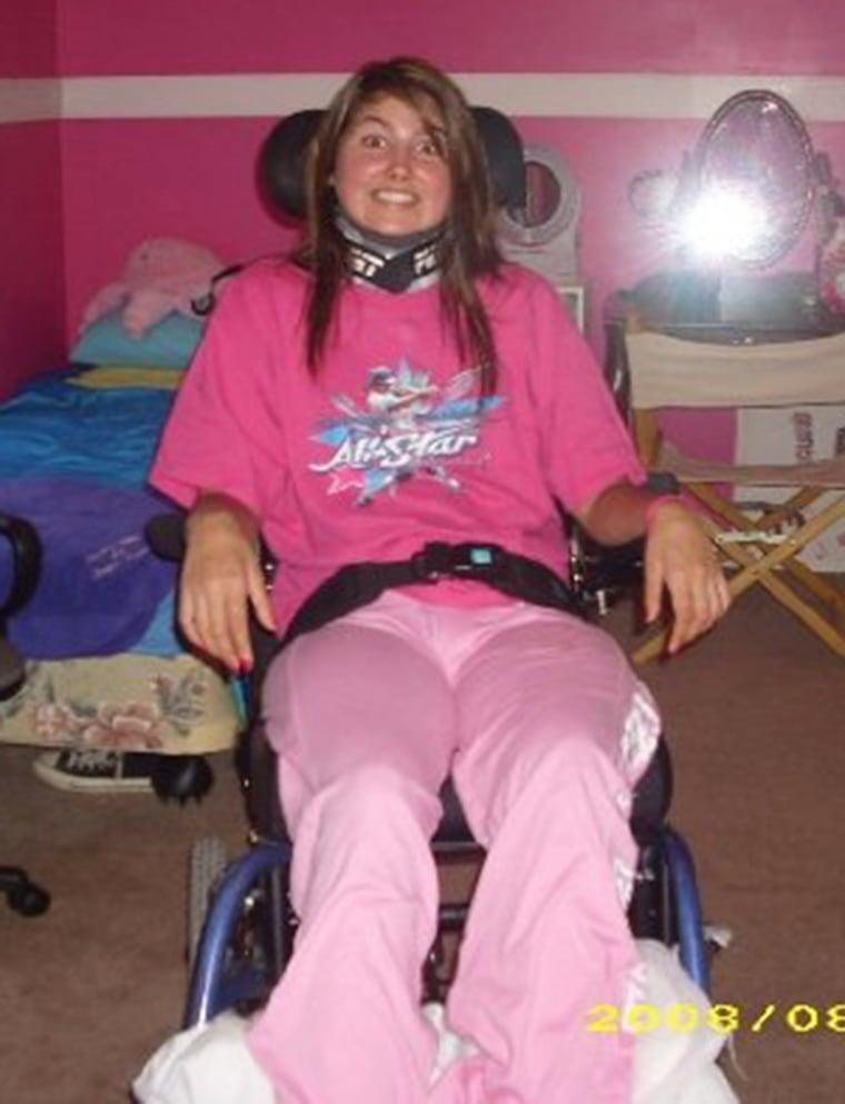 Paralyzed Bride Walks Down Aisle, Dances at Wedding Reception