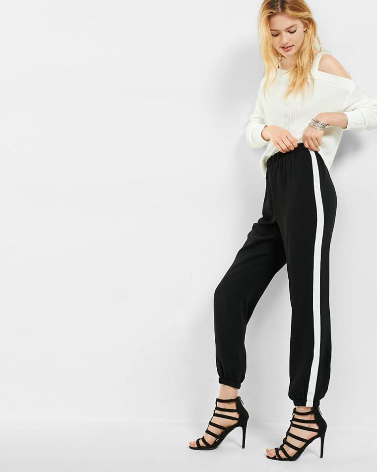 Express track pants