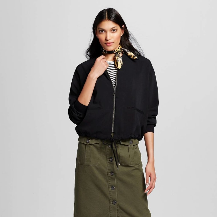 Target Who What Wear bomber jacket