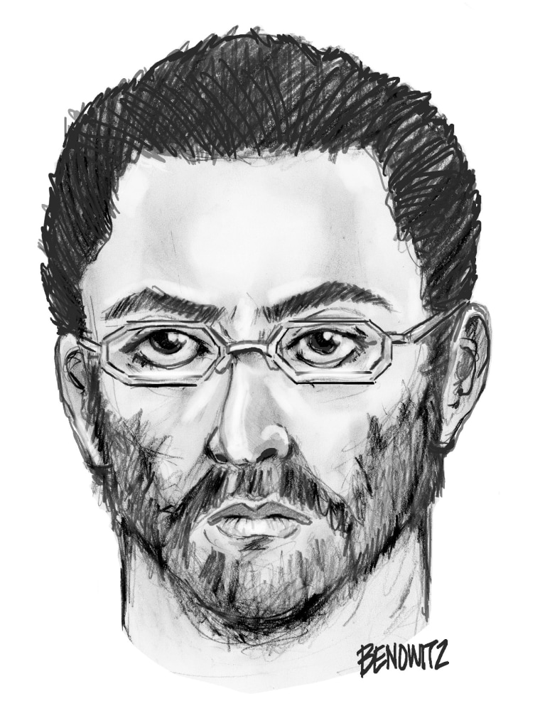 The NYPD released a sketch of a man believed to be involved in the shooting deaths of Maulama Akonjee, 55, and Thara Uddin, 64.