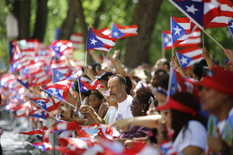 Hundreds of thousands filled the streets of Manhattan & Brooklyn to celebrate NYC's 59th annual Puerto Rico Day starting with a parade.