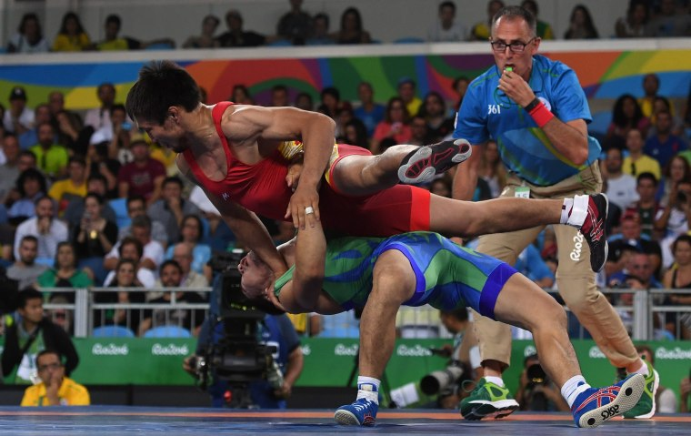 Image: Wrestling - Olympics: Day 9