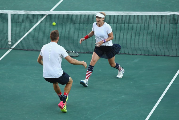 Image: Tennis - Olympics: Day 9