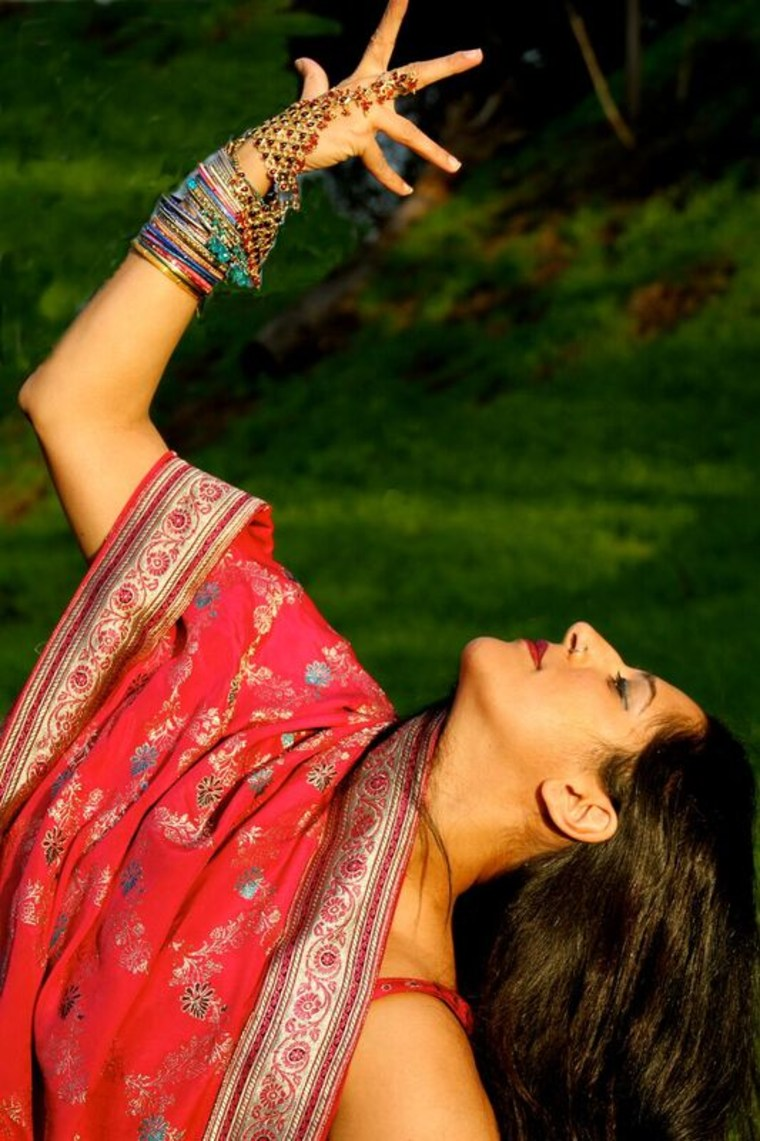 Achinta McDaniel teaches Bollywood dance in Los Angeles while working with her dance company, Blue13.