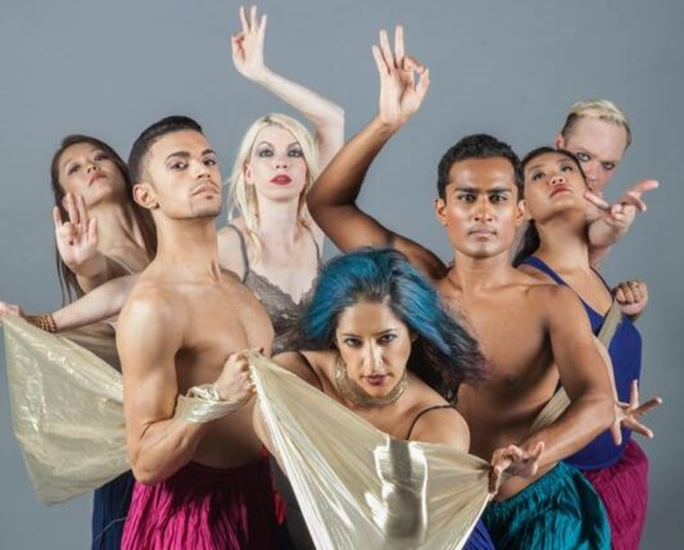 Achinta McDaniel's dance company Blue13 features dancers of various ethnicities and dance backgrounds.