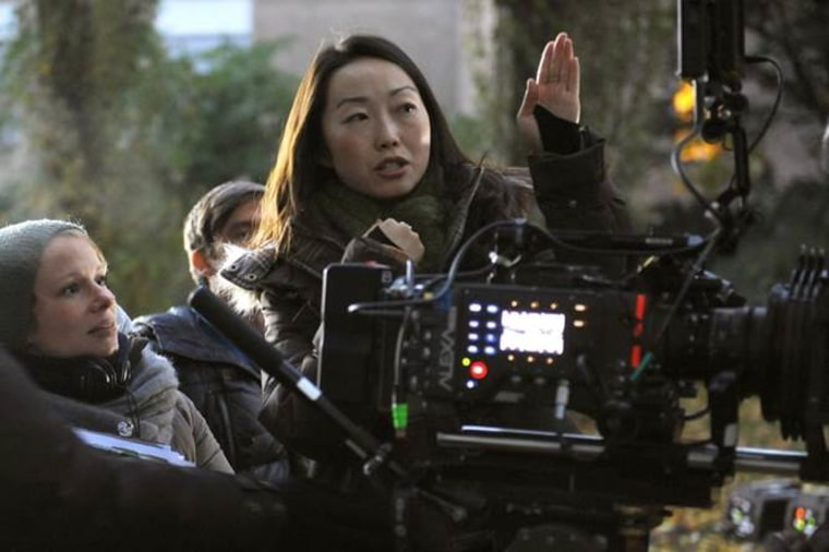 "Lulu Wang, the writer and director of ""Posthumous."""