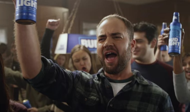 A still from Bud Light's new trans-inclusive TV ad, which debuted on August 15, 2016.