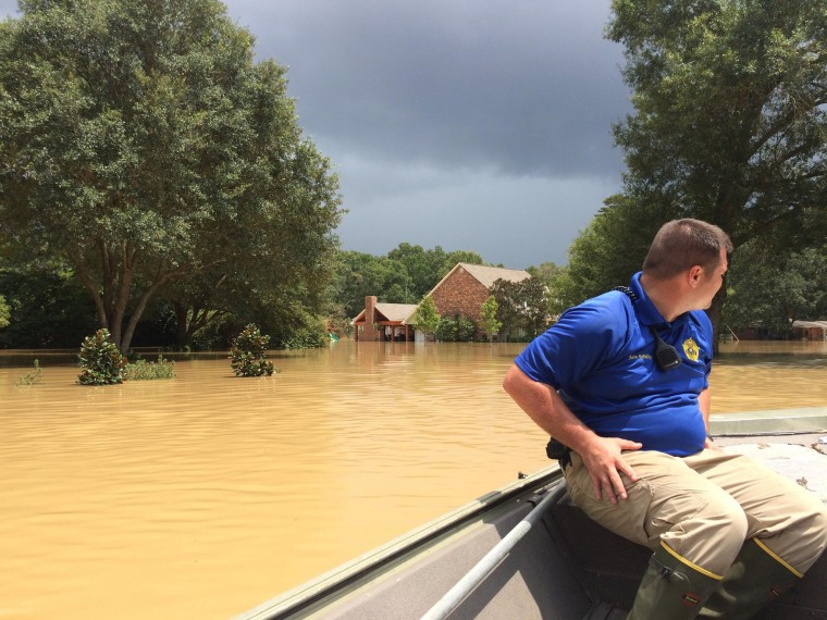 IMAGE: Rapides Parish flooding