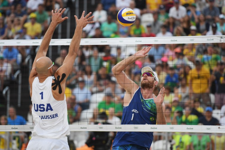 Image: Beach Volleyball - Olympics: Day 10