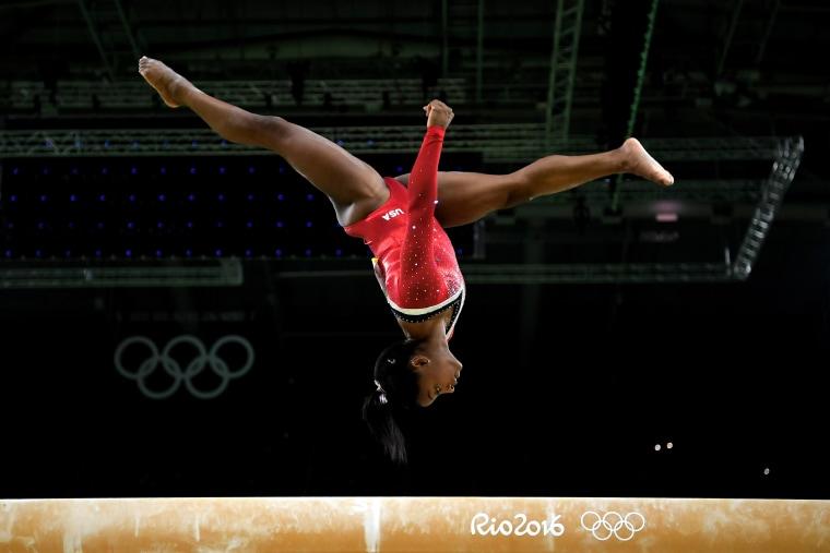 Image: Gymnastics - Artistic - Olympics: Day 10