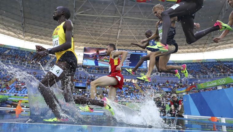 Image: Athletics - Men's 3000m Steeplechase Round 1