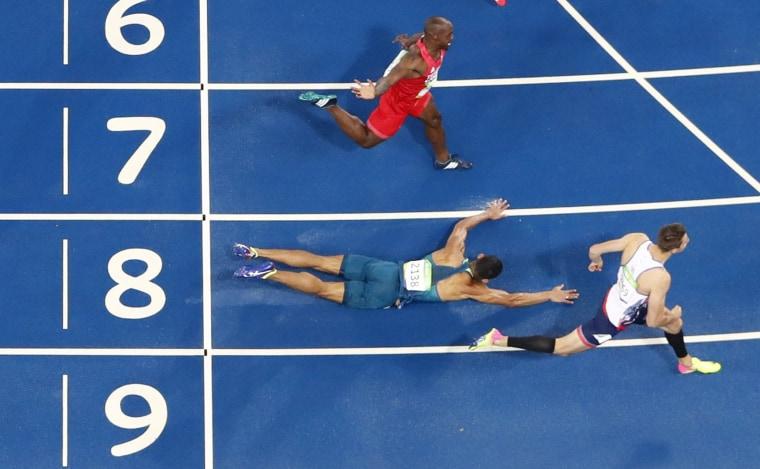 Image: Athletics - Men's 110m Hurdles Round 1