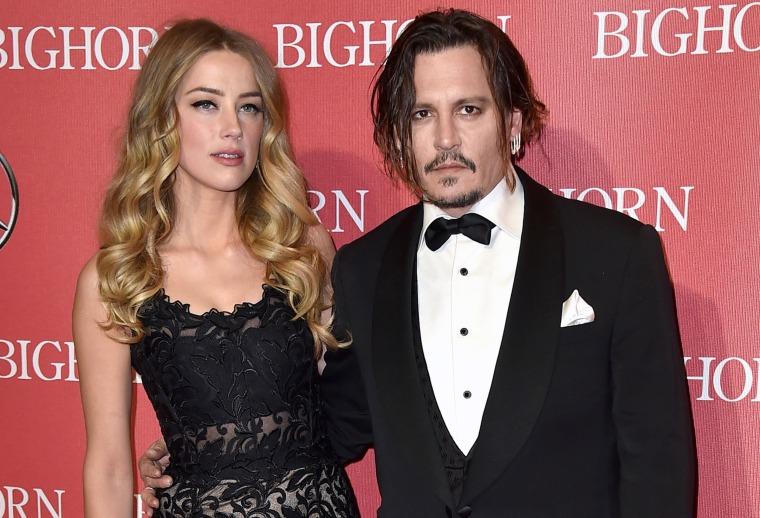 Image: Amber Heard,  Johnny Depp